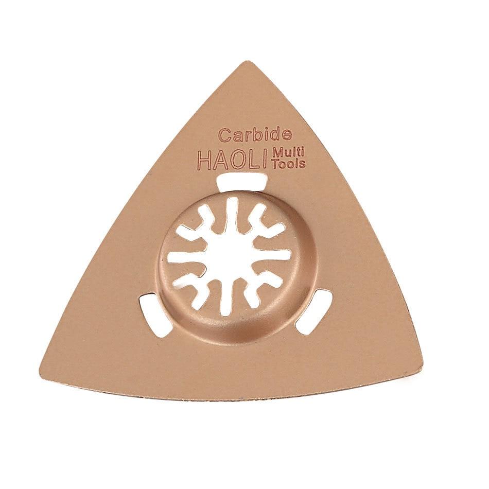 6 vnt karbido segmento svyruojantys daugiafunkcinių pjūklų peilių - Ašmenys pjūklams - Nuotrauka 6