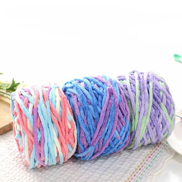 100g 65m Super Cheap Thick Yarn For Knitting Slippers Chunky Yarn