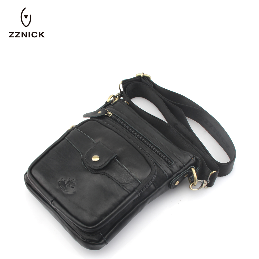 ZZNICK 2018 Genuine Leather Men Messenger Bag Hot Sale Male Small Man Fashion Crossbody Shoulder Bags Men's Travel New Handbags* zznick genuine leather male bag casual men messenger bag hot sale small man crossbody shoulder bags men s travel new handbags