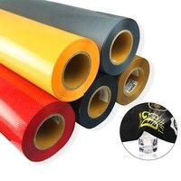NEW 51cmx100cm Vent Hole PVC Heat Transfer Vinyl Cutting Film Cutter Press Iron On For Textile