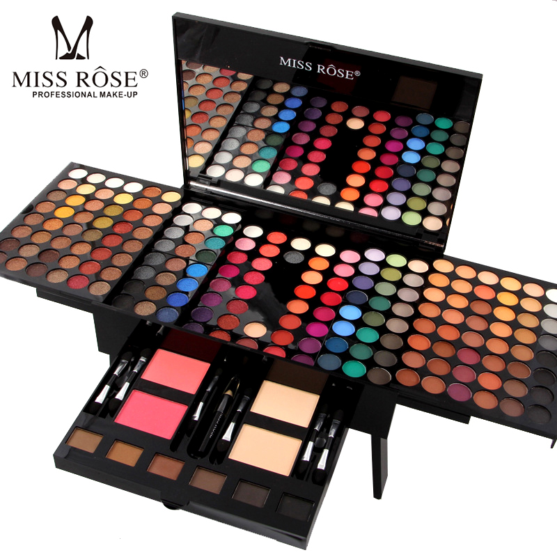 MISS ROSE Professional Full Makeup Palette Sets for Women Lip Face Eyes Eyeshadow Powder Lipstick Brand Make Up Sets Palette photography light lamp bulb professional daylight lamp 210v household studio accessory lighting fixture