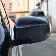 Free Shipping High quality Carbon Fiber Motor Car Automobile Rearview Mirror Cover For 2016 NISSAN Tiida