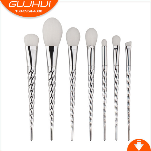 7 Unicorn Makeup Brush Sets, Beauty Tools, Make-up Tools, GUJHUI Rhyme Beauty Makeup 5 makeup brushes mermaid makeup brushes make up tools suit sets brush makeup gujhui rhyme color