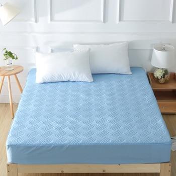 Cotton All Inclusive Cover Detachable Zipper  Anti-Mite Mattress Bed  1