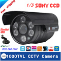 1000TVL Waterproof Outdoor CCTV Security Camera IR Night Vision 3.6-12mm Lens Optional With Bracket As Gift