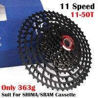 363 gr/teil 11 50 T Kassette 11 Speed Moutain Bike MTB Kassette Anzug für Shima/sram Kassette 22 33 geschwindigkeit-in Fahrrad Freilauf aus Sport und Unterhaltung bei