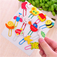 G409 South Korea creative cartoon cute animal painting wood clip clip Bookmark direct manufacturers Stationery office supplies(China)