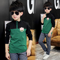 2017 Boys T Shirts Spring Children Clothing Kids Clothes Long Sleeve T Shirts Brand Vestidos Infantil Boys Tops Tees 12 14 Years