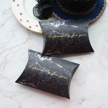 10pcs Black Marble Especially for You Design Candy Box Small Gift Sweet Packaging Wedding Favors Baby Shower Birthday DIY Use