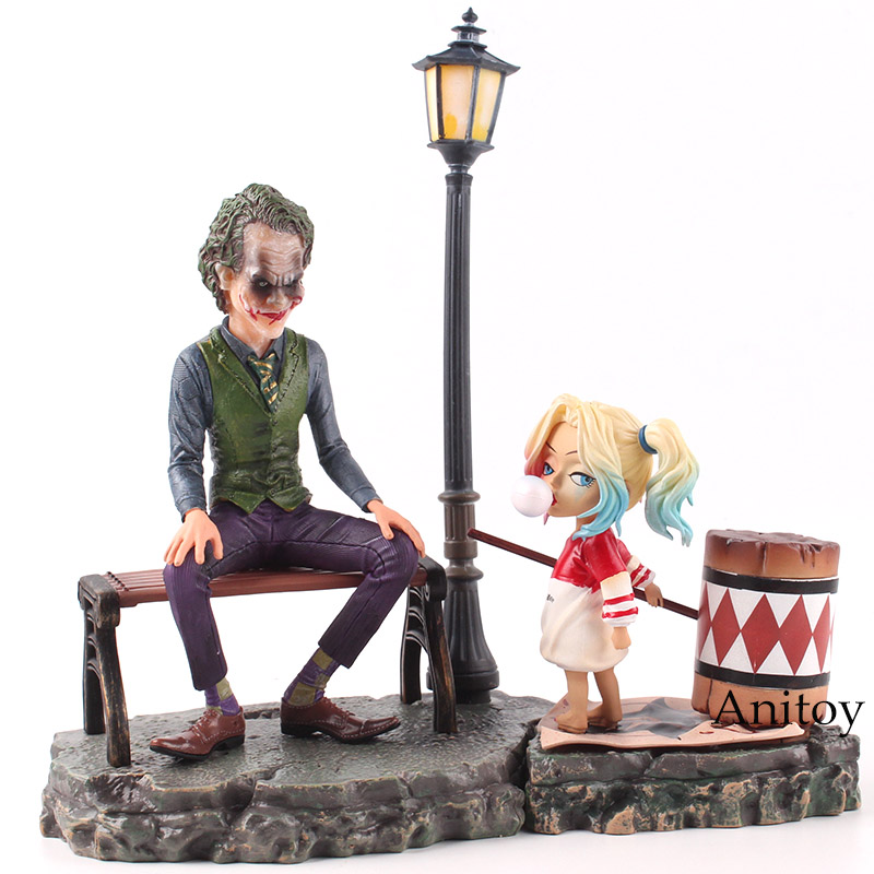 все цены на DC Comics Suicide Squad Harley Quinn & Joker Figure PVC Joker Harley Quinn Figure Action Collectible Model Toy Set