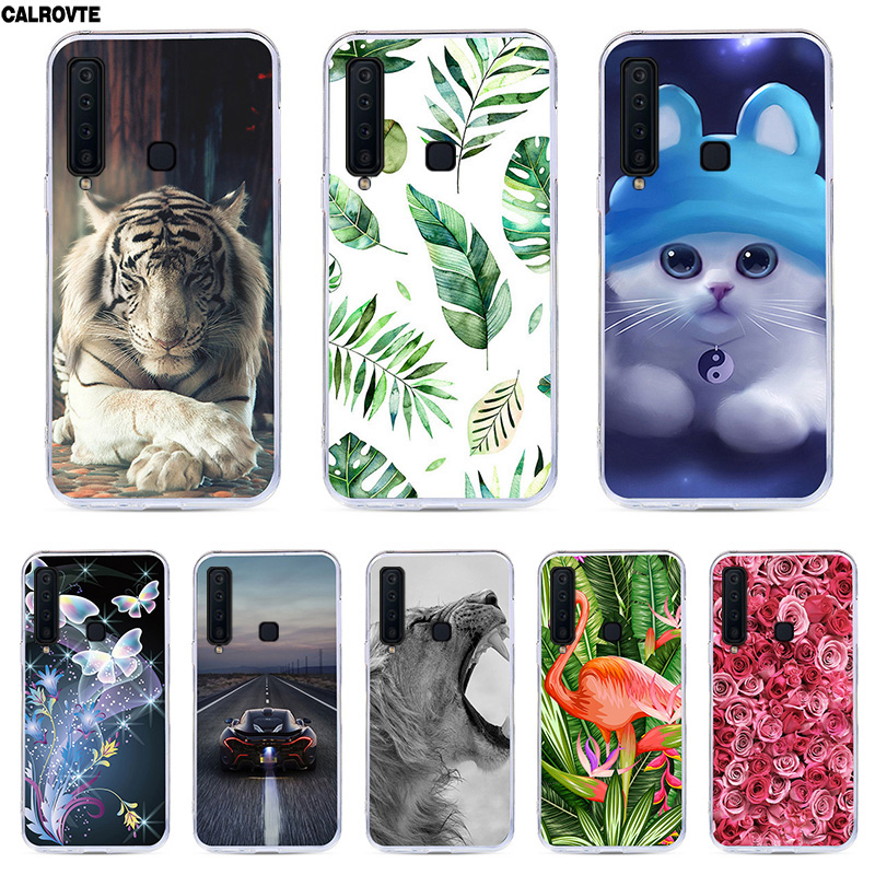 A9 2018 Cartoon Case For Samsung Galaxy A9 2018 Cover Silicone TPU Phone Bags For Samsung A9 2018 A920F A920 SM-A920F Back Cases