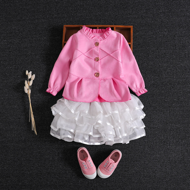 d0e67f1aaef5 Sweet baby girl Series jacket Autumn and Spring cardigan jacket ...