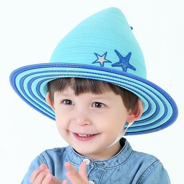 Baby Straw Hat Print With 5 Stars Children Summer Style Fedora Girls Sun  Hats Caps Baby Beanie Girls  Accessories Baby Bonnet 689fc0a3d53