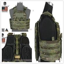 2017New EmersonGear CP style CPC 500D tactical vest Emerson Military Combat Gear EM7400 Multicam Tropic