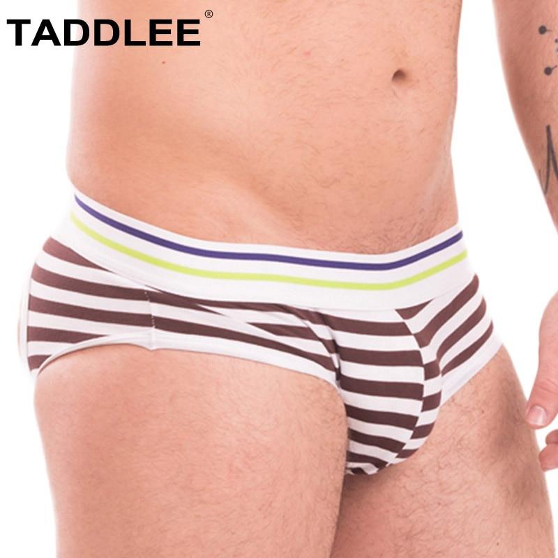 Taddlee Brand Sexy Mens Jock Straps Underwear Boxer Brief Bikini Gay Penis Cotton Men Backless Buttocks Jockstraps Thong Strings
