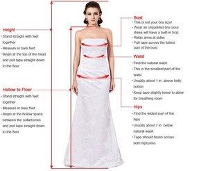 Image 4 - את כתף גבוהה נמוך בורגונדי שושבינה שמלות סקסי אפליקציות ללא משענת לנשף שמלות Vestido דה festa
