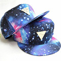 Amazing Space Star 3Style Adjustable Casual Baseball Caps 2015 Hip-hop Fashion Hats & Caps