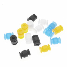 10pcs/lot Shock Absorption Damping Ball for FPV Gimbal Camera Mount Dampening Rubber Ball Damper Dual Head Absorber Shock Pad(China)