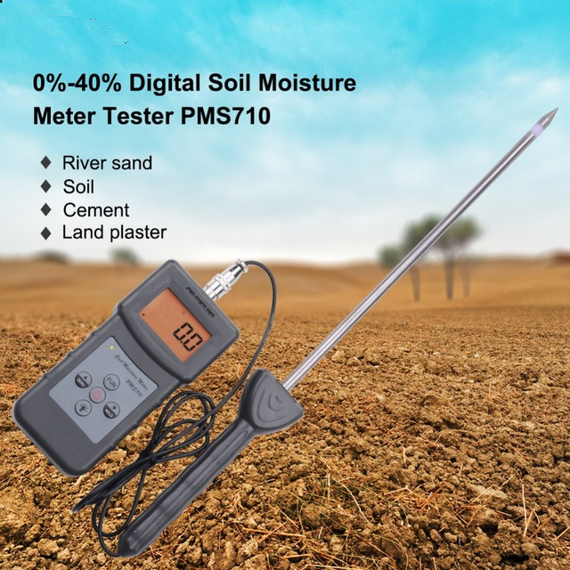 PMS710 Digital Soil Moisture Meter Test River sand Soil Cement Land plater Sensor Tool herobiker armor removable neck protection guards riding skating motorcycle racing protective gear full body armor protectors