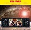 NOVO 4.1 Polegada 12 V Rádio FM Estéreo MP3 MP4 MP5 Player de Áudio Do Carro Bluetooth da Sustentação USB/TF Cartão Eletrônica do carro In-Dash