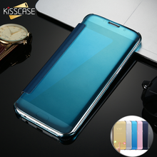 KISSCASE Deluxe Flip Mirror Case for Samsung Galaxy