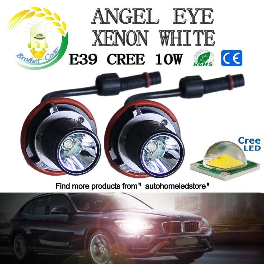 BMW 5 6 série E60 E61 Tuyau de lignes Phare Lumière Tête Lampe Rondelle Système