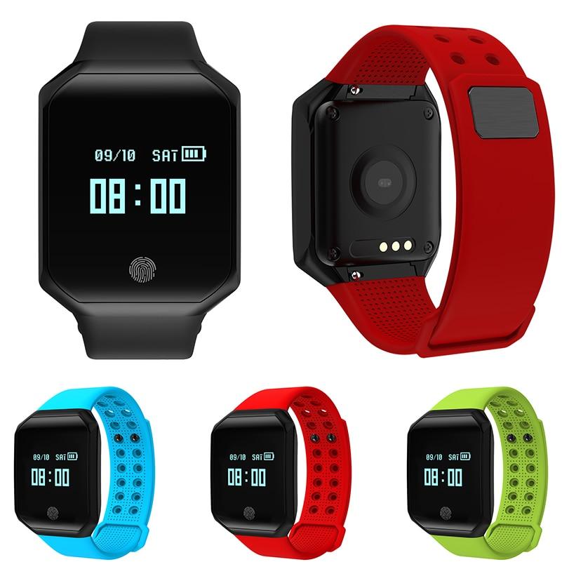 GZDL Waterproof Blood Pressure Smart Wristband Heart Rate Sleep Tracking OLED Band Bluetooth Pedometer Sport Bracelets WT8178