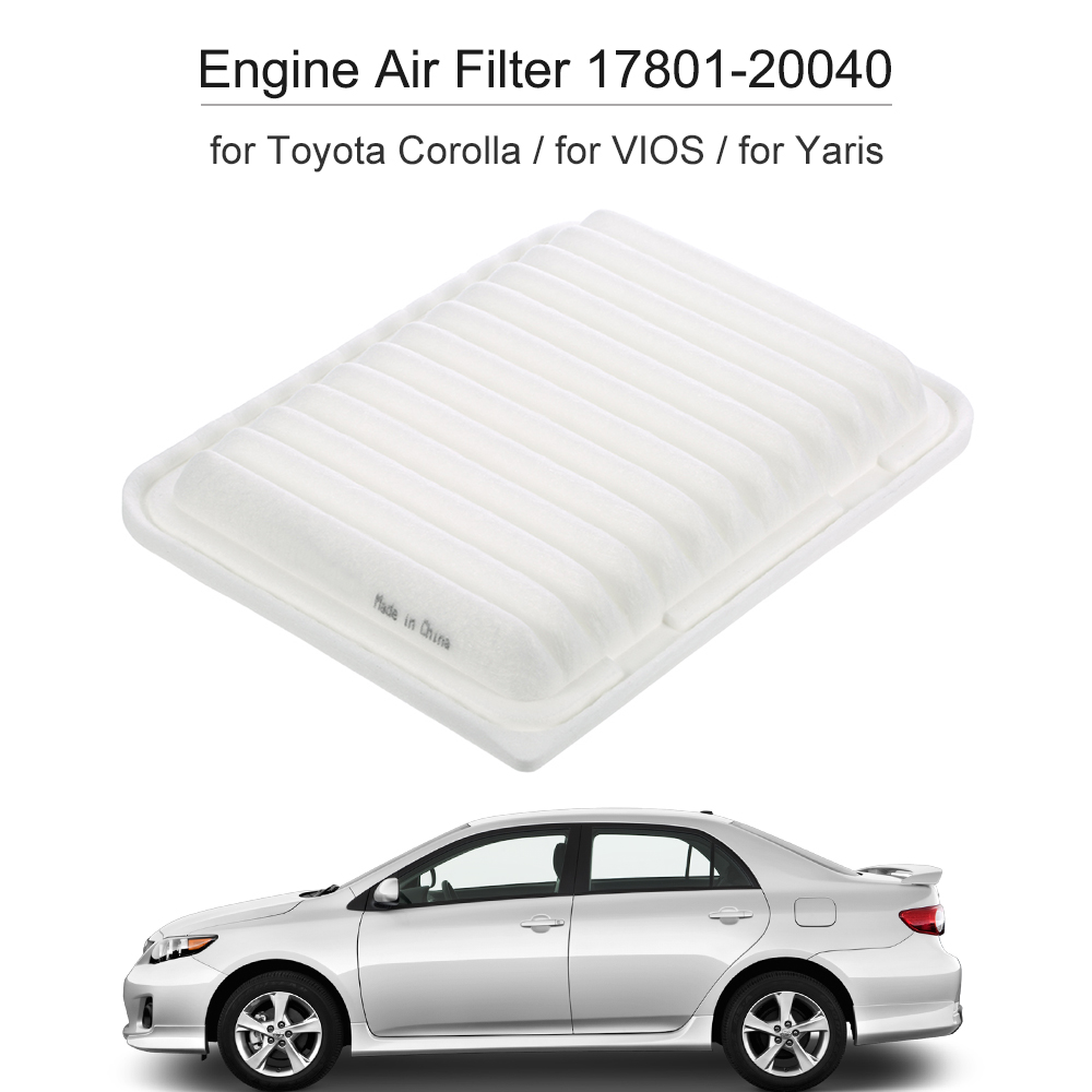 Engine air filter for toyota corolla vios yaris 17801 21050 china