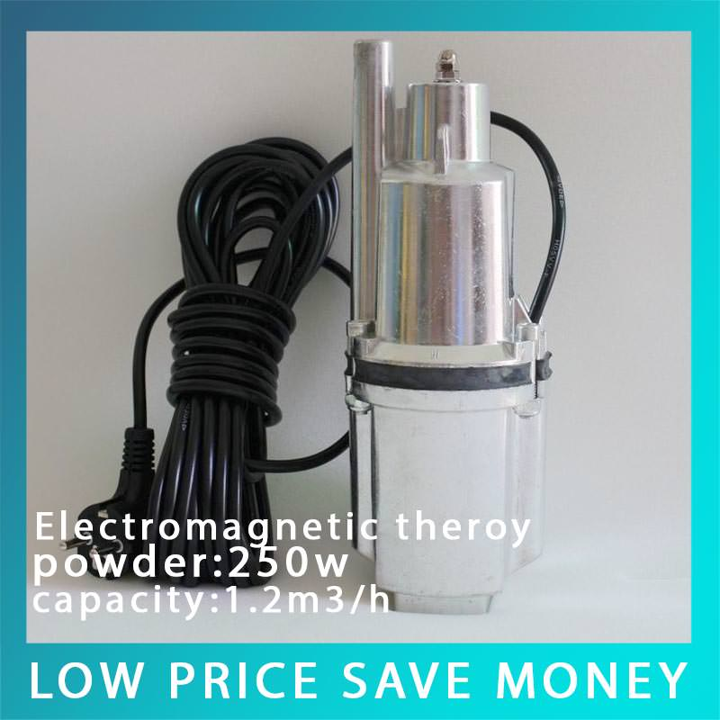 220V Cast Aluminum Electromagnetic Water Pump Household Car Wash Pump High Pressure Deep Well Pump household portable high pressure car washing pump 220v self suction water pump