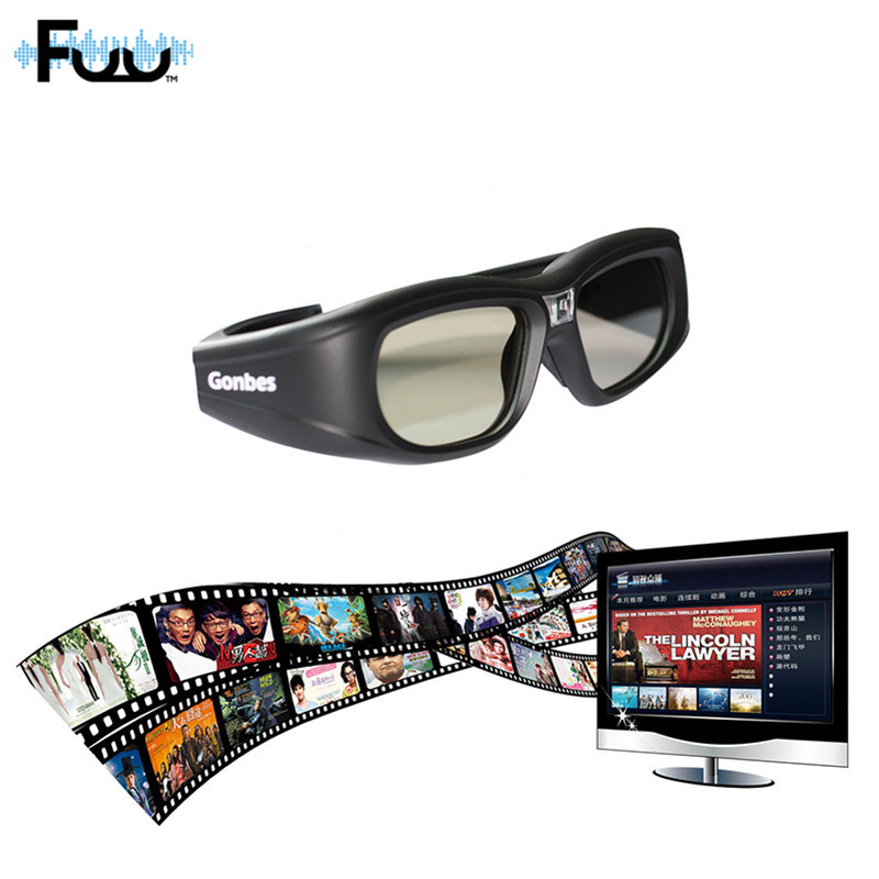 G05-DLP Bluetooth 3D Shutter Active Binocular Glasses for Samsung Glasses TV Glasses Bluetooth LCD lenses HDTV Blu-ray players