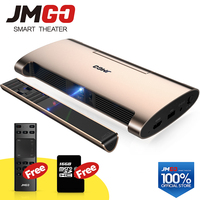JMGO смарт проектор M6. Android 7,0, поддержка P 4 К, 1080 p декодирования. Набор в wifi, Bluetooth, HDMI, USB, лазерная ручка, мини проектор