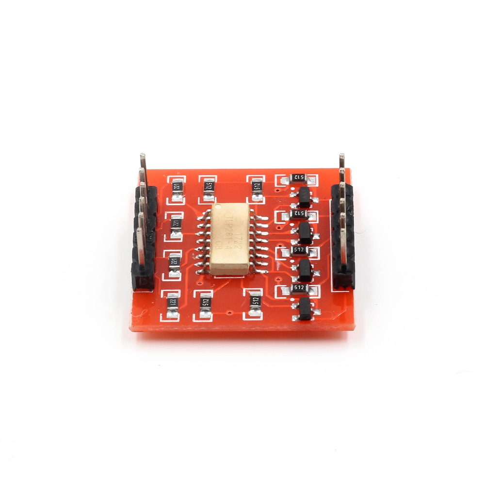 Tlp281 4 Ch Channel Opto Isolator Ic Module For Arduino Expansion Circuit Board High And Low Level Optocoupler Isolation In Integrated Circuits From
