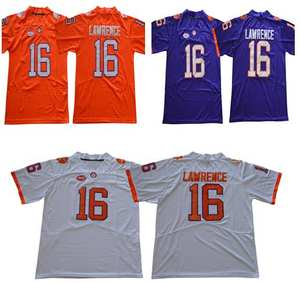 905c404a40f Clemson Tigers 16 Trevor Lawrence College Football Jersey