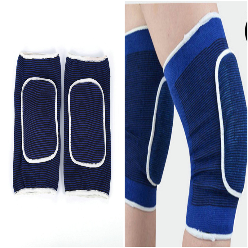 1 Pair Knee Protector Pads Warm Breathable Sports Protector for Basketball Football volleyball motorcyle outdoor Guard Kneepad