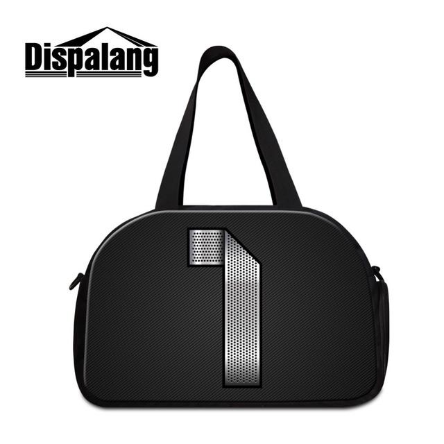 Dispalang número 1 impressão saco de viagem grande capacidade de bagagem saco bolsa de ombro homens mulheres multifuncionais viajar sacos de duffle