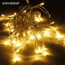 AA Battery Mini 10/20/30/40 LEDs Warm White Christmas String Fairy Lights