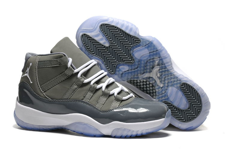 JORDAN Air Rétro 11 XI de Basket-Ball Chaussures Basse aide JORDAN Sneakers Gris Hommes Chaussures de Basket-Ball Jordan 11