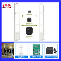 EAS Checkpoint Antenna System Free DHL Shipping Two Security Door 1000piece4X4 EAS Label EAS Detacher EAS