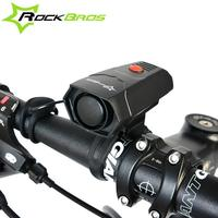 ROCKBROS Cycling Horns Electronic Bike Bicycle Handlebar Ring Bell Horn Strong Ultra Loud Air Alarm Sound