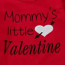 Mommy's little Valentine Red Outfit