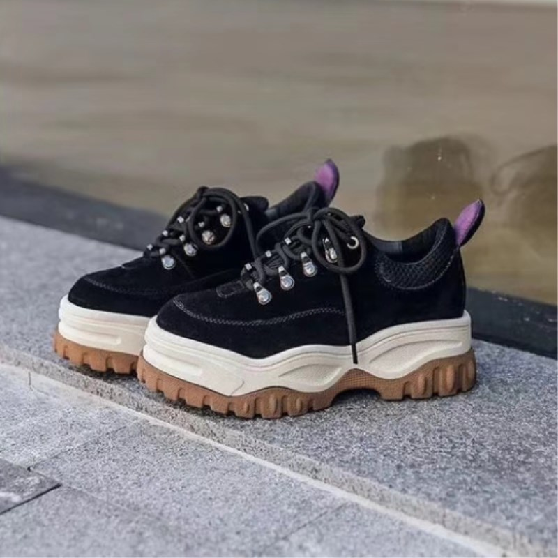 Top Quality Fashion Woman sports shoes womens new thick-soled autumn casual shoes Street Style basket flats zapatos de mujerTop Quality Fashion Woman sports shoes womens new thick-soled autumn casual shoes Street Style basket flats zapatos de mujer