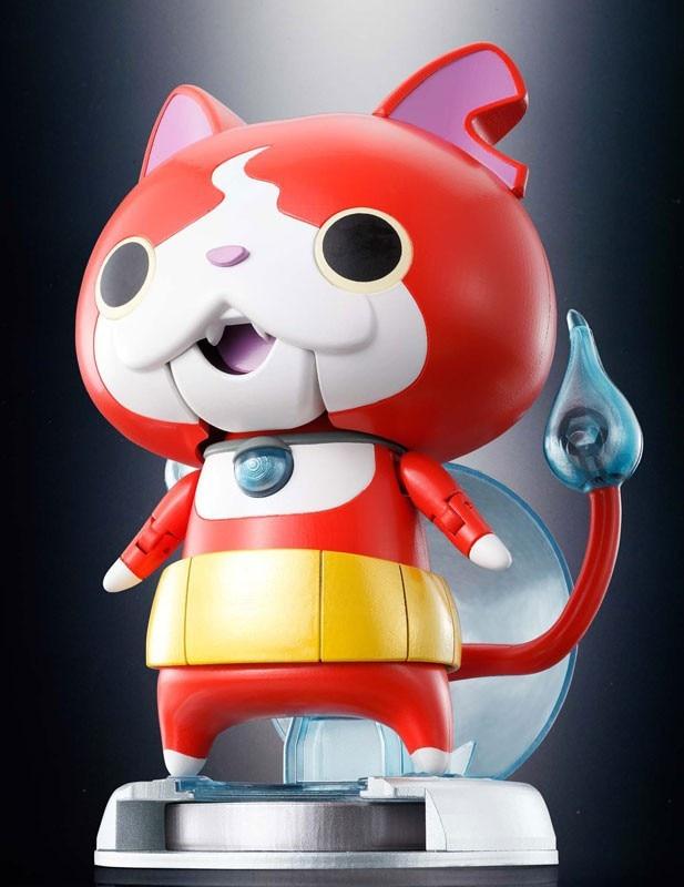 Yo-kai Watch Original Jibanyan Chogokin Figure chuchoter Yokai Youkai montre Figure dessin animé personnage Action Figure accessoire jouets