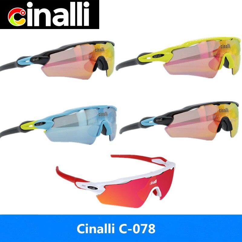 Cinalli  Sunglasses Cycling Racing Outdoor Sport glasses TR90 Frame Eyewear