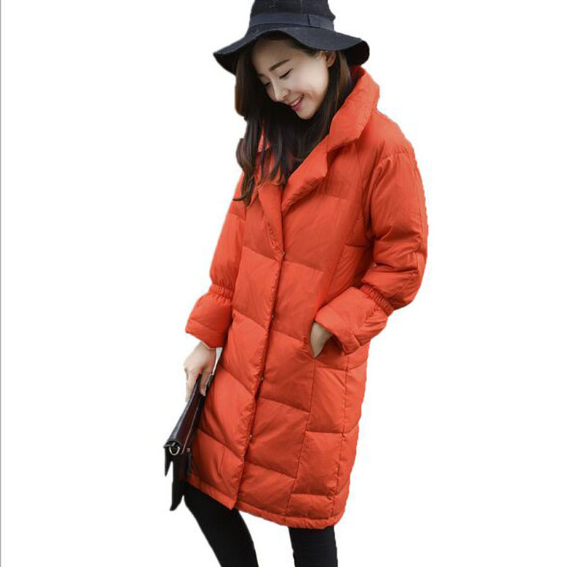 Female Warm Winter Jacket Women   Coat   Thin 2018 New Fashion Brand 90% White Duck   Down   Parka Ultra-light   Down   Jacket