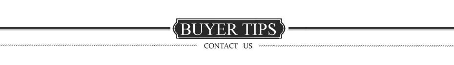 6 buyer tips