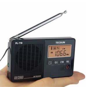 Image 5 - TECSUN PL 118 خفيفة للغاية راديو صغير PLL DSP FM الفرقة راديو الإنترنت المحمولة Am Fm راديو FM:76.0 108MH /87.0 108MHz