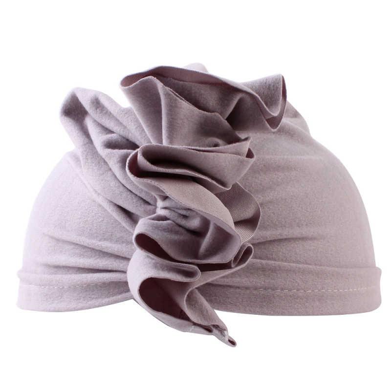เด็กใหม่ Turban เด็กวัยหัดเดินเด็กสาวอินเดียหมวกนุ่มน่ารักหมวกฤดูใบไม้ผลิฤดูร้อนฤดูใบไม้ร่วงฤดูร้อนทารกแรกเกิดการถ่ายภาพ props