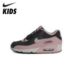 NIKE AIR MAX 90 Original recién llegado niños corriendo zapatos ligero cómodo niños deportes zapatillas #325213-059