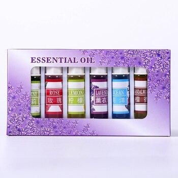 Ätherisches Öl 6 teile/satz Für Diffusor Aromatherapie Öl Luftbefeuchter 6 Art 5ML Duft Aromatherapie Öl Natürliche Spa Luftbefeuchter    -
