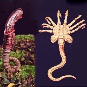 1/6 масштаб Alien Predator Chestburster Facehugger модель alien xenomorph фигурка